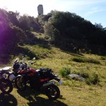 As motos e a pedra